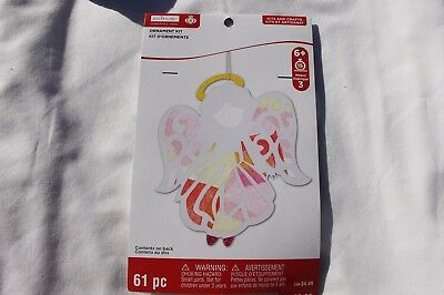 Christmas Angel Foam Ornament Crafts Seasonal Holiday Ornament Kit Makes 3