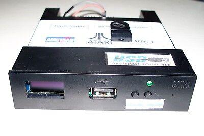 Amiga/Atari ST/Amstrad CPC/GOTEK BLK FLASH FLOPPY OLed DISPLAY & Buzzer/ 8gb USB