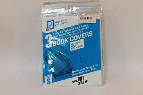 Tuff Cover Self-adhesive Plastic Book Covers