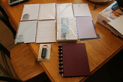 Levenger Circa Leather Bound Planner With Loads Of Extras 100s In Value