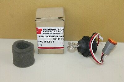 Federal Signal Replacement Strobe Tube 601512-95 Nos Locshelfv