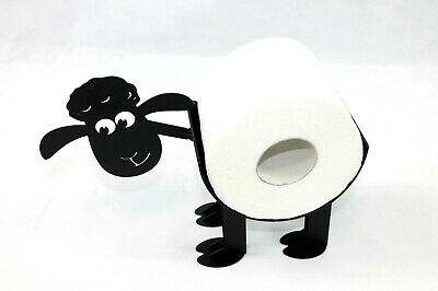 Bad Deko SCHAF WC Ständer Toilettenpapier Rollenhalter Toilettenrollenhalter 1R