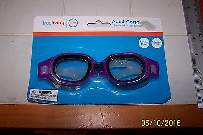 d3fffcbedac Swim Goggle Adult Swimming Goggle 14   Up Purple PC Lens Adjustable Latex  Free