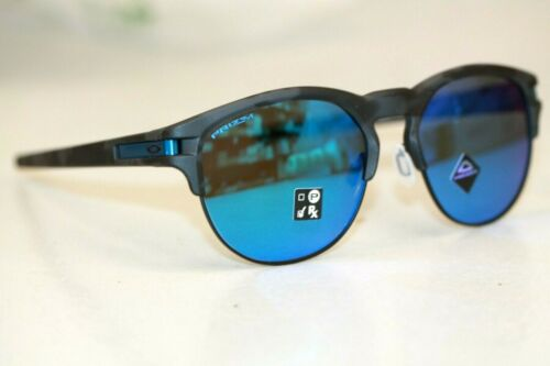 Oakley LATCH KEY Sunglasses OO9394-1355 Matte Black Camo W/ PRIZM Sapphire Lens