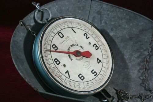 ** VINTAGE PENN SCALE MFG. CO. PHILA 20 LB. WEIGHT SCALE 1950