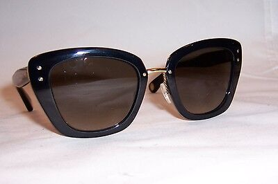 NEW MARC JACOBS SUNGLASSES MJ 506/S MJ506 0NQ-HA BLACK GOLD/BROWN AUTHENTIC