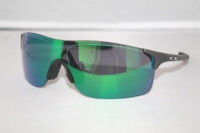 Oakley EVZero Pitch Sunglasses OO9383-0338 Steel COLOR W/ Jade Iridium Lens
