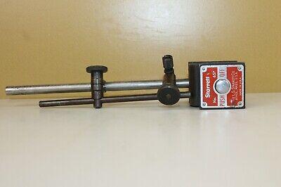 Starrett 657 Magnetic Base Indicator Holder Owner Markings Locb7