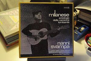 NANNI-SVAMPA-MILANESE-VINILE-LP-33-GIRI-12-034-EX-4-DISCHI-COFANETTO