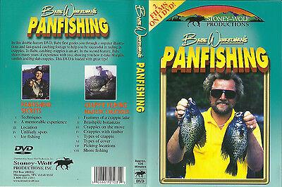 Babe Winkelman Panfish Secrets Crappie Strategies  2 Films 1 DVD