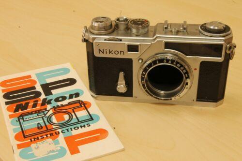 Nikon rangefinder  Nikon SP  chrome. body only.