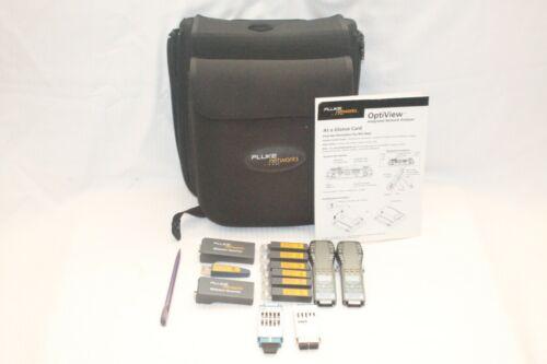 FLUKE ONE TOUCH OPTIVIEW SET 1-6 FLUKE Wiremap Adapter + CASE + STYLUS + MORE