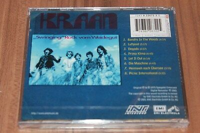 Kraan ‎– Let It Out (2001) (Cd) (Intercord ‎– 7243 8 22672 2 5) (Neu+ovp) 7