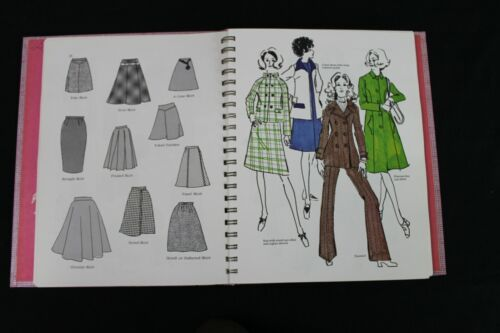VTG 1971 Dorothy Moore Pattern & Dressmaking Book New Look Mod Retro Fashion