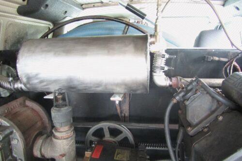 Truck Mount Extractor Hurricane Carpet Cleaning Machine Heat Exchanger 3500 psi
