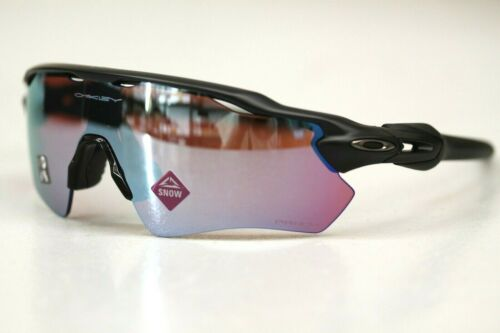 Oakley RADAR EV PATH Sunglasses OO9208-9738 Matte Black W/ PRIZM Snow Sapphire