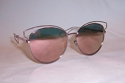 03a7c17154ae NEW CHRISTIAN DIOR SIDERAL 2 S JA0-0J PINK ROSE GOLD MIRROR SUNGLASSES