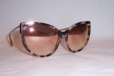 bbd74abf9a15 NEW DOLCE & GABBANA SUNGLASSES DG 4337 52534Z PINK HAVANA/PINK MIRROR  AUTHENTIC