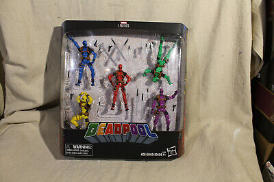 "Marvel Legends Series 3.75"" Deadpool 5 Pack Foolkiller Terror Solo Slapstick New"