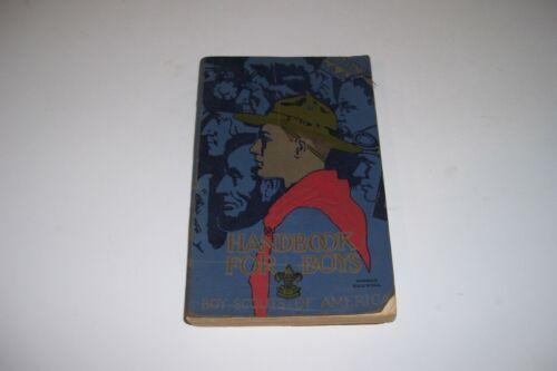 1927  HANDBOOK FOR BOYS-BOY SCOUTS OF AMERICA BOOK-SC