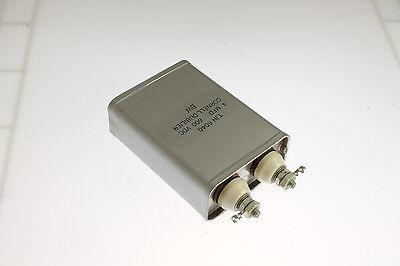 New 4mfd 600vdc Application Oil Hermetically Sealed Capacitor Cde 4uf 600v Dc