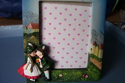 Cute Movie Couples (German,Germany,Bavarian,Kissing Couple, 3D Resin,CUTE Standing Picture)