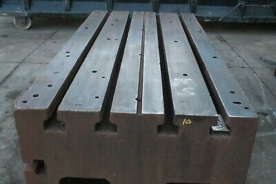 48 X 96 X 25 Cast Iron T Slotted Table Yoder 64512