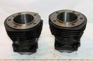 NEW Front & Rear Cylinders Harley Davidson 74