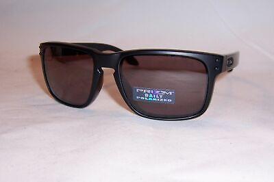 Oakley Holbrook POLARIZED Sunglasses OO9102-90 Matte Black W/ PRIZM DAILY 55MM  (Oakley Sunglasses Holbrook)