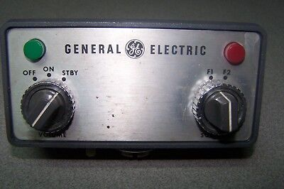 General Electric Radio Control Head