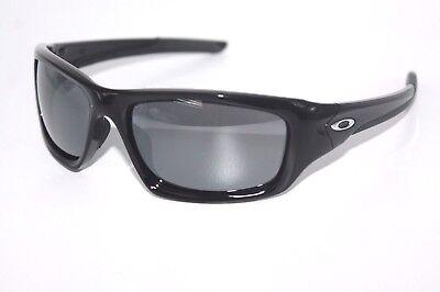 CUSTOM Oakley Valve Sunglasses Polished Black Frame W/ Black Iridium Lens
