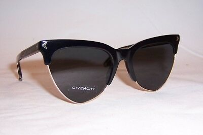NEW GIVENCHY SUNGLASSES GV 7078/S 807-IR BLACK/GRAY BLUE AUTHENTIC