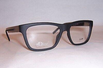 NEW DIOR HOMME CD EYEGLASSES BLACK TIE 184 5LH BLACK 54mm RX (Dior Eyeglasses Men)