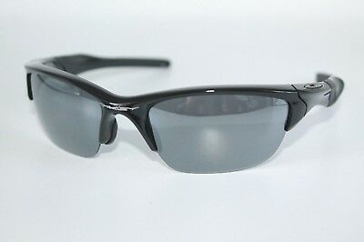 Oakley Half Jacket 2.0 Sunglasses OO9144-01 Polished Black W/ Black Iridium Lens