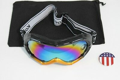 как выглядит Снегоступы C918Black Adults UV glasses goggles Protection for hunting ski snowshoe фото