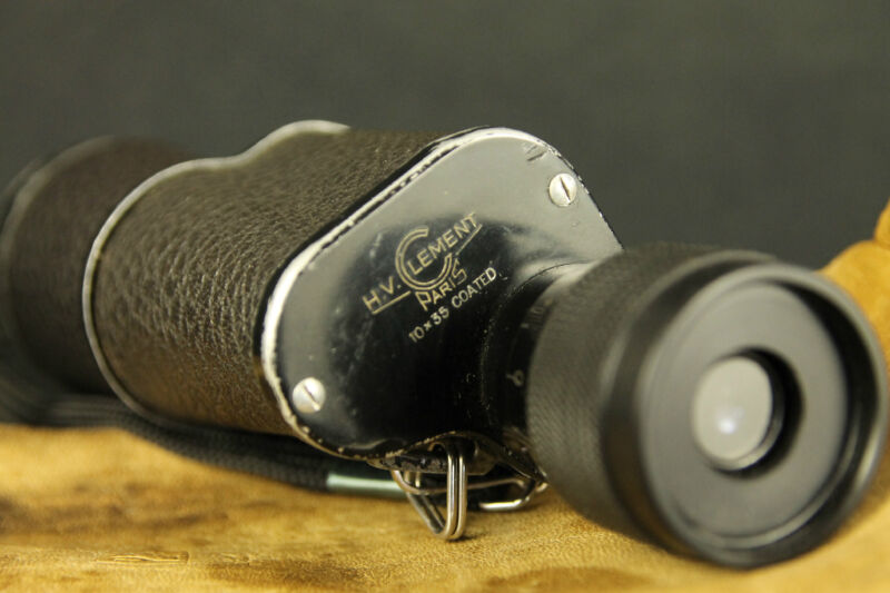 H.V. Clement Paris 10x35  monocular   made  in France