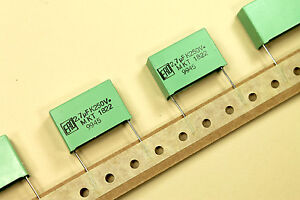 2.7uF 2.7mfd 250V Vishay MKT1822-527/255V Metal Polyester Box Film Capacitor