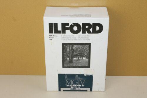 ILFORD 5x7 Photographic Paper 250ct Pearl #771055 Multigrade IV RC Deluxe (locB6