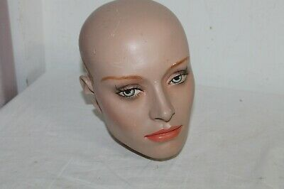 Hand Painted Mannequin Head