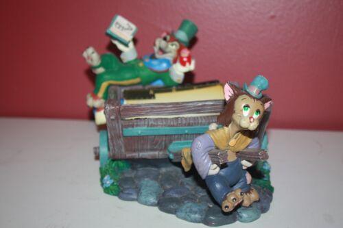 Rolodex - Rare Disney Pinocchio Worthington Fox Gideon Cat with pages! #22097