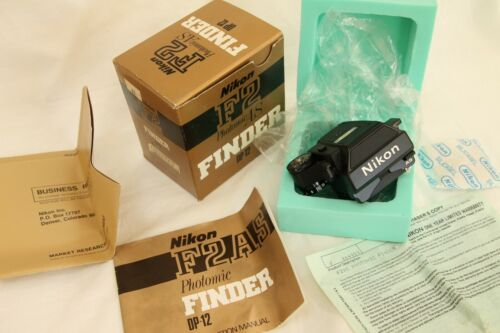 Nikon  photomic F2AS finder DP12 , MINT  boxed