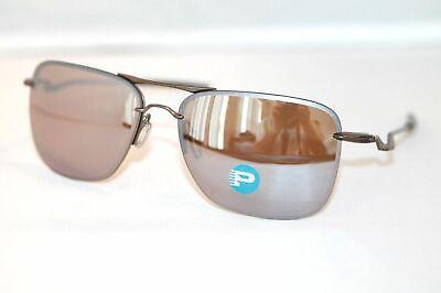 Oakley Tailhook POLARIZED Sunglasses OO4087-07 Titanium W/ Tungsten Iridium (Titanium Sunglasses Men)