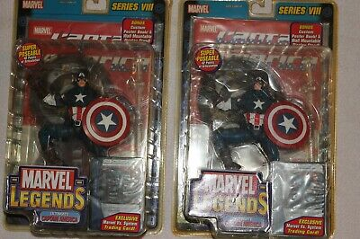 Marvel Legends Captain America Series 8 Lot Factory Packaged & Never Opened!!!