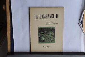 LIBRETTO-D-039-OPERA-GAETANO-DONIZETTI-IL-CAMPANELLO