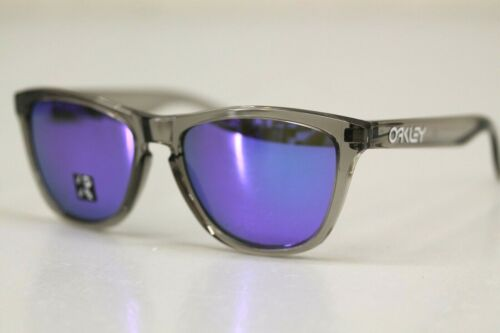 Oakley FROGSKINS POLARIZED Sunglasses OO9013-I155 Grey Ink W/ Violet Iridium