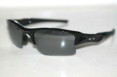 Oakley Flak Jacket XLJ Sunglasses 03-915 Jet Black Frame W/ Black Iridium (Flak Jacket Xlj Sunglasses)
