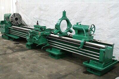 27 X 168 Poreba Gap Bed Engine Lathe Yoder 59823