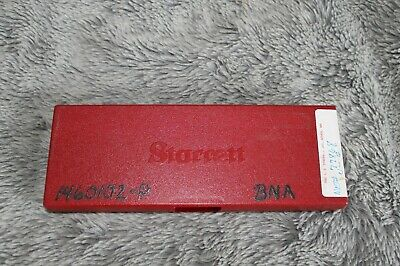 Starrett 120a-6 Dial Caliper White Face 0-6 Range