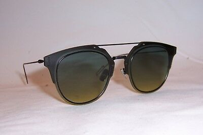 NEW DIOR HOMME DIOR COMPOSIT 1_0/S ANS-JE BLACK/GREEN YELLOW SUNGLASSES