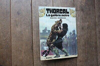 THORGAL N°4/LA GALERE NOIRE/EO.05.1982/TBE d'occasion  Expédié en Belgium